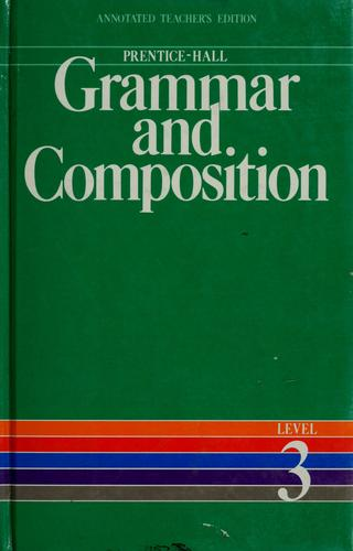 Prentice-Hall grammar and composition by Gary Forlini