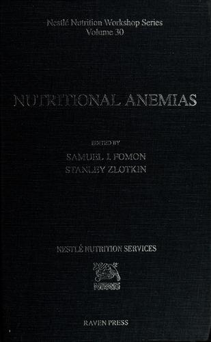 Nutritional anemias by