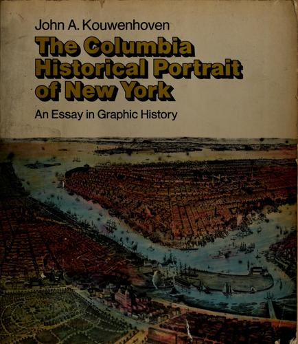 The Columbia historical portrait of New York