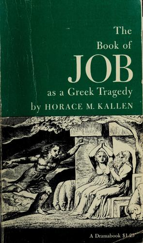 The book of Job as a Greek tragedy by