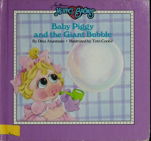 Baby Piggy and giant bubble by Dina Anastasio