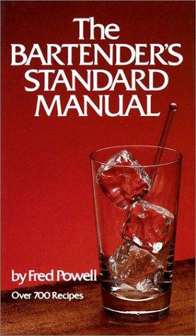 Bartenders Standard Manual
