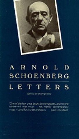 Letters by Arnold Schoenberg