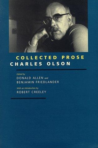 Collected prose by Charles Olson
