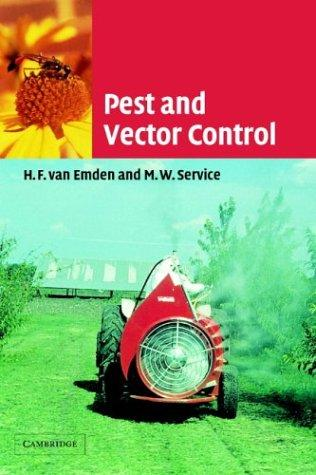 Pest and vector control by