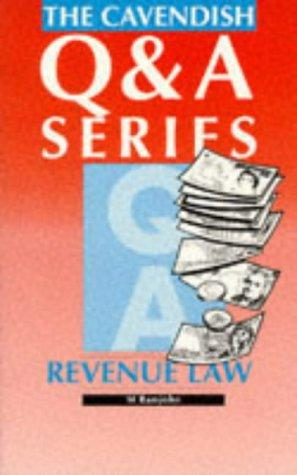 Revenue Law Q&A (Q & A) by Ramjohn