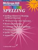 Spelling by McGraw-Hill