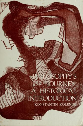 Philosophy's journey by Konstantin Kolenda