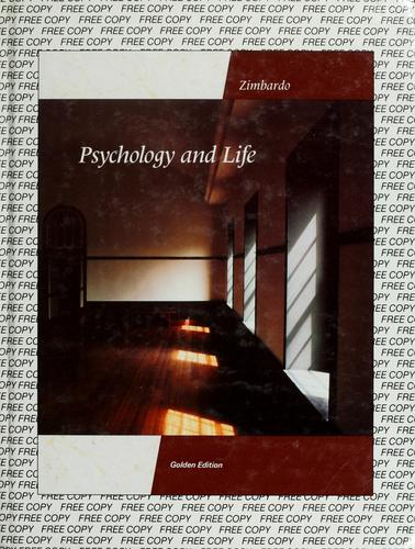 Psychology and life by Philip G. Zimbardo