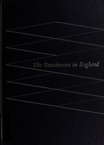 The Renaissance in England by Rollins, Hyder Edward