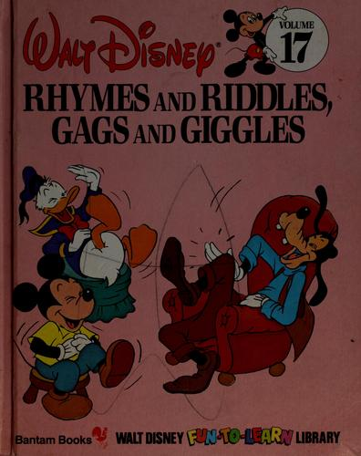 Rhymes and riddles, gags and giggles by Walt Disney Productions