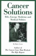 Cancer Solutions by Barry Lynes
